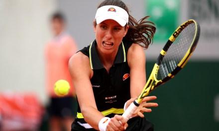 Paris   Konta sets aside jinx but Wozniacki falters