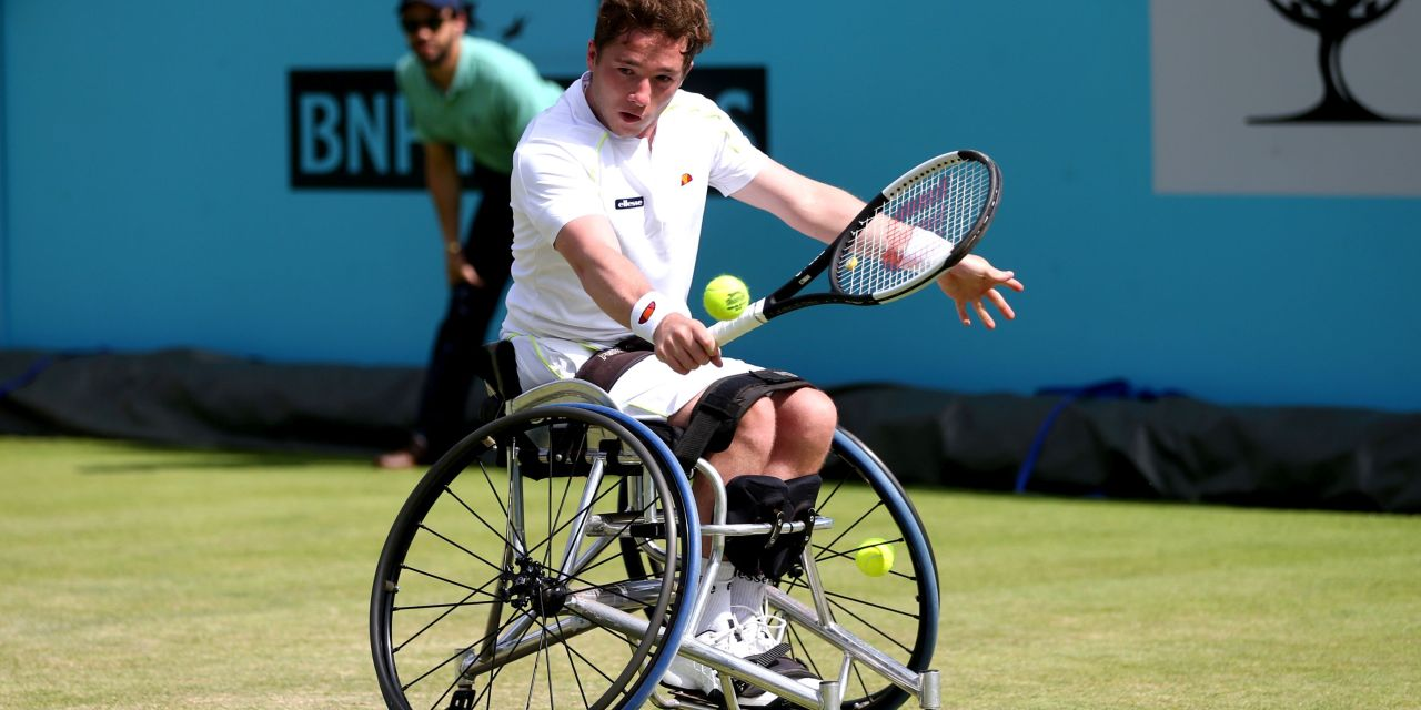 London | Hewett and Reid to contest wheelchair final