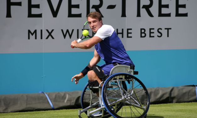 London | Brit trio of Bailey, Hewett and Reid make wheelchair semis.