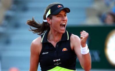 Paris   Konta reaches French Open fourth round