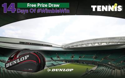 #WimbleWin Day 10 | Dunlop 9 Racket Bag