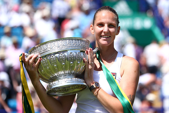 Eastbourne | Pliskova lifts title for second time
