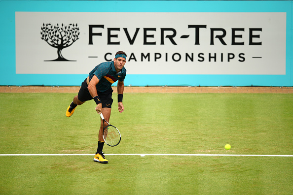 London | Del Potro successfully tests his knee