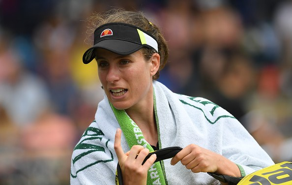 Eastbourne | Konta's run ends abruptly