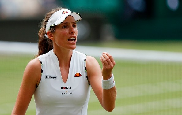 Wimbledon   Konta to fight on