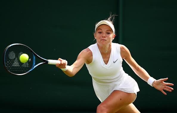 Wimbledon | Swan suffers straight sets loss