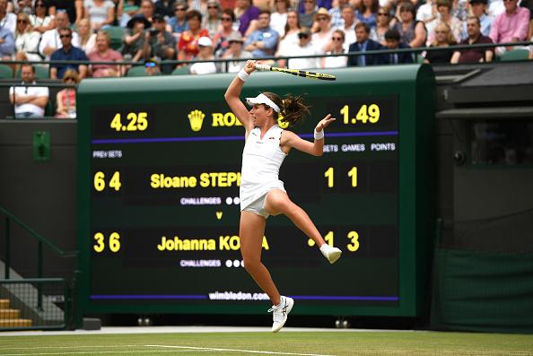 Wimbledon   Konta squeezes through but Dart exits