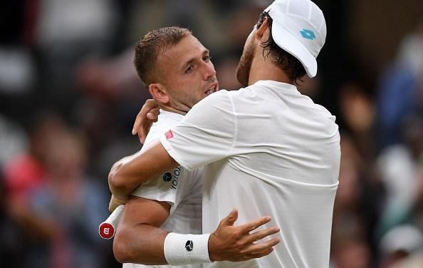 Wimbledon | Sousa outlasts Evans