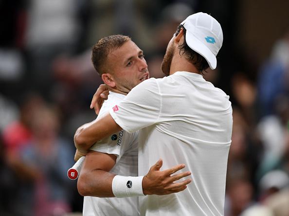 Wimbledon   Sousa outlasts Evans