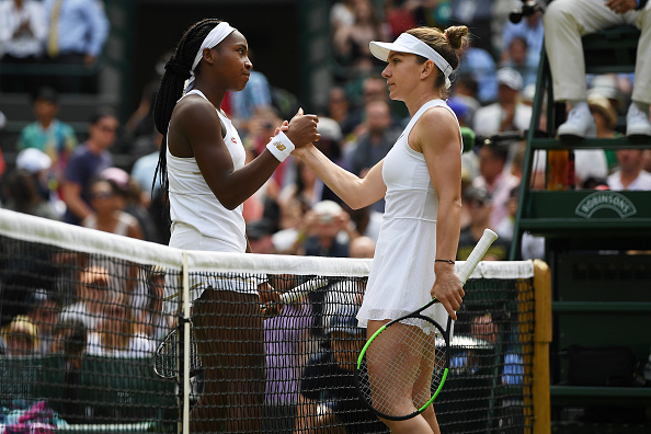 Wimbledon   Halep takes out CoCo