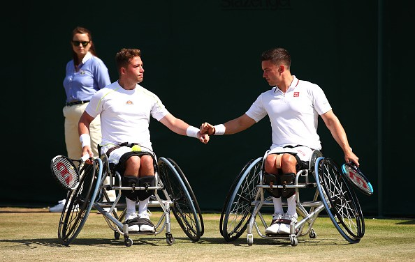 Wimbledon | Hewett and Reid surge into doubles final