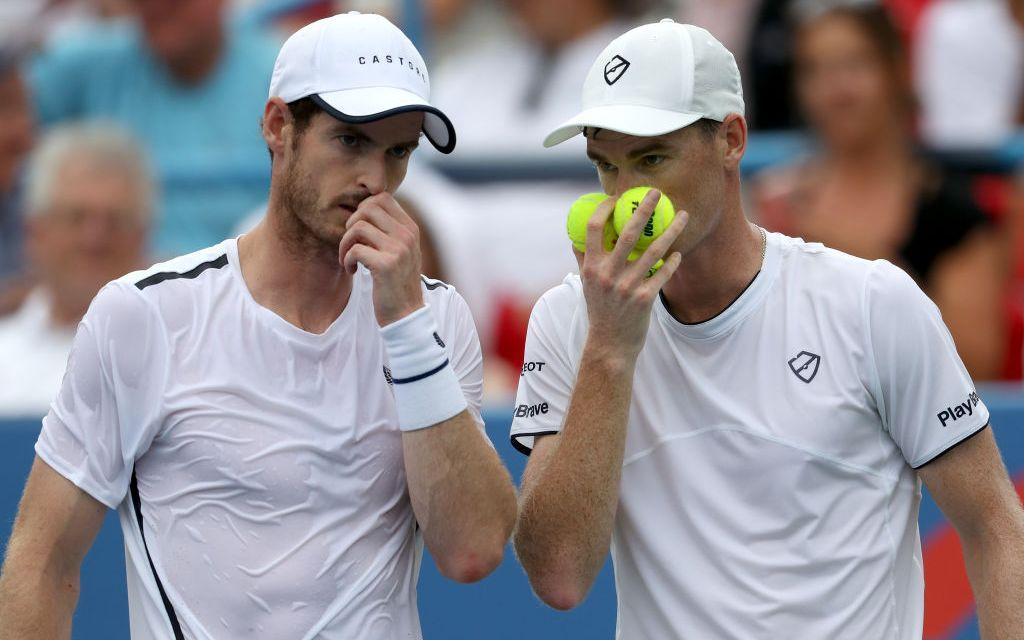 Washington | Andy Murray & Jamie Murray win opener