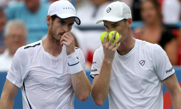 Washington | Andy Murray & Jamie Murray win opener
