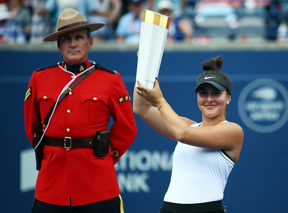 Toronto | Andreescu becomes champion as Williams retires