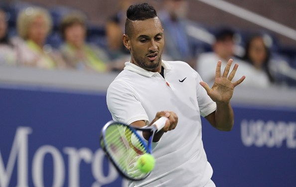 New York | Kyrgios keeps relatively calm to win through