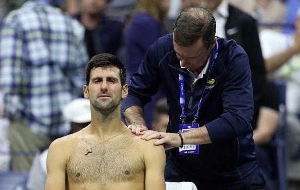 New York   Djokovic retires and gets booed
