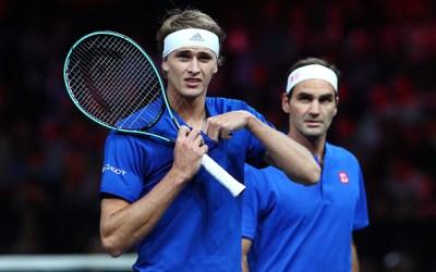 Geneva | Federer & Team Europe nose ahead on Day 1