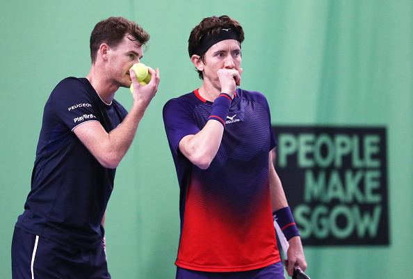 Glasgow | Jamie Murray & Smith reach doubles semi
