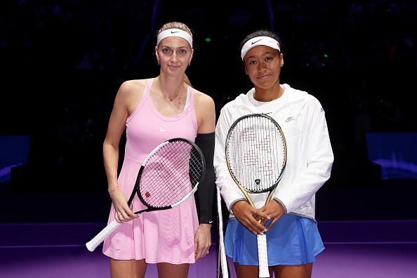 Shenzhen   Osaka kicks off with Kvitova win