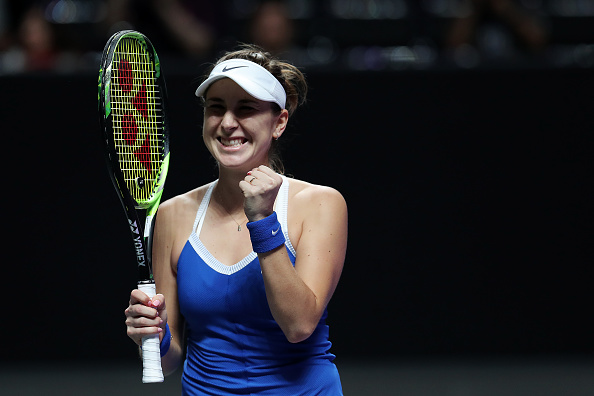 Shenzhen | Bencic stays alive, battling past Kvitova