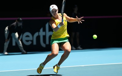 Perth | Mladenovic and Barty level Fed Cup final