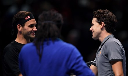 London | Thiem downs Federer