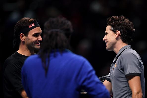 London | Thiem downs Federer