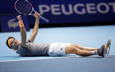 London   Thiem outhits Djokovic