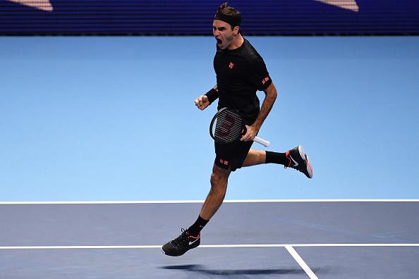 London   Federer ends Djokovic's dreams