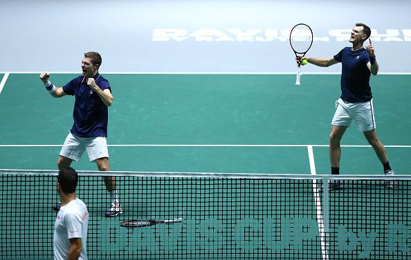 Madrid | Murray & Skupski secure GB Davis Cup win