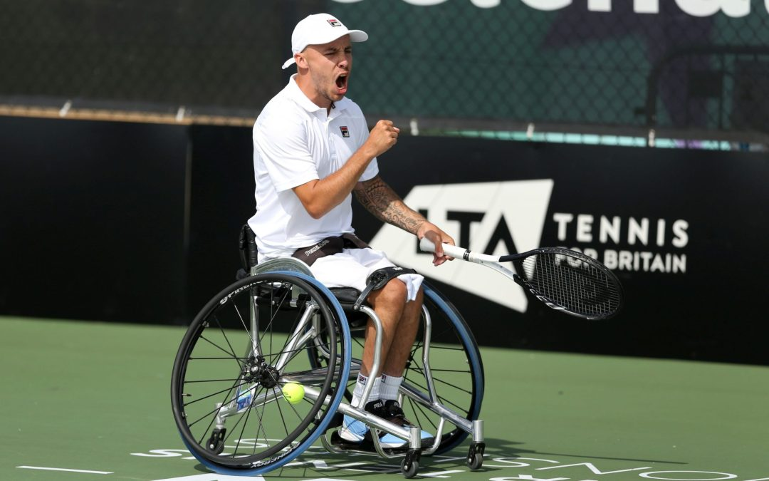 Melbourne   New World No.1 Andy Lapthorne to lead the British Challenge for Australian Open Wheelchair Tennis