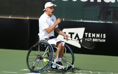 Melbourne | New World No.1 Andy Lapthorne to lead the British Challenge for Australian Open Wheelchair Tennis