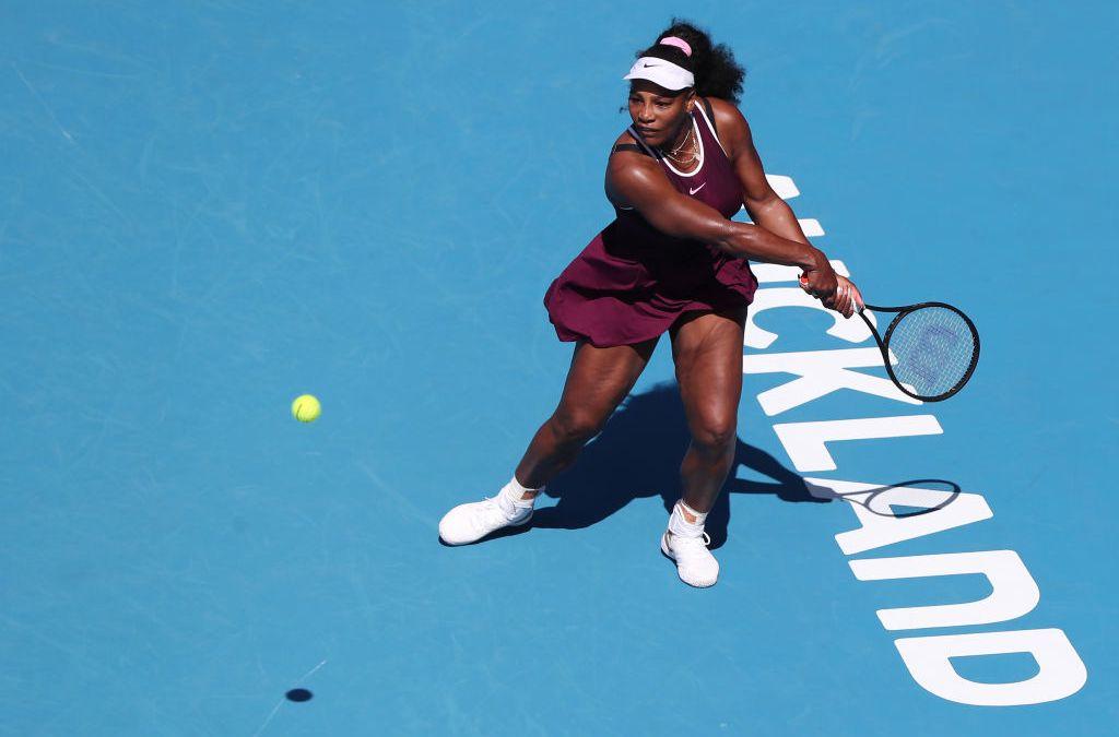 Auckland   Serena survives McHale scare