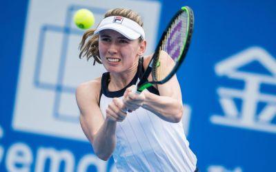 Shenzhen | Alexandrova accelerates past Muguruza
