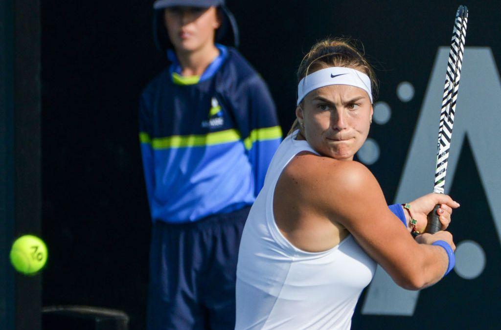 Adelaide | Kerber injured as Sabalenka overcomes her grief