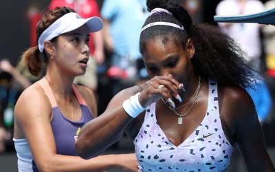 Melbourne | Serena and Woz bow out