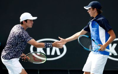 Melbourne | French trio make boys semis, with a Latvian