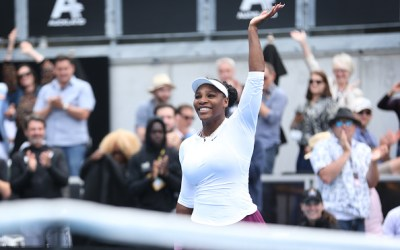 Auckland | Serena sweeps into second round