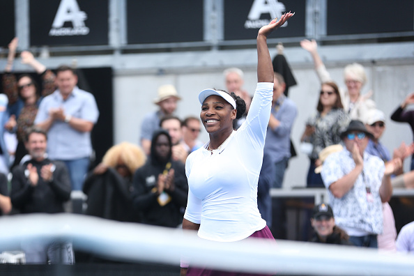 Auckland |Serena sweeps into second round