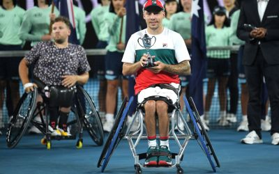 Melbourne | Andy Lapthorne finishes runner-up