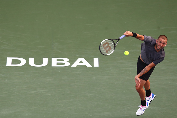 Dubai | Evans upsets Rublev for place in last four
