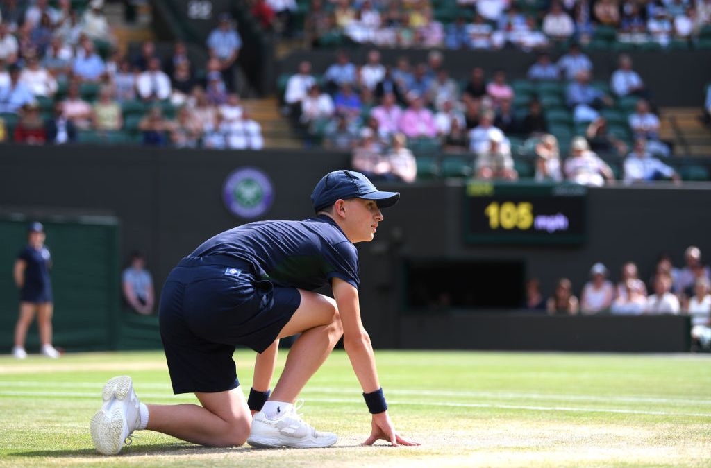 London   Wimbledon in precarious position