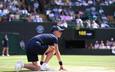 London | Wimbledon in precarious position