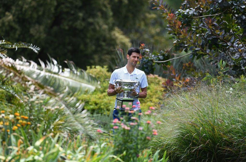 Djoko named greatest men's champion of the Open Era