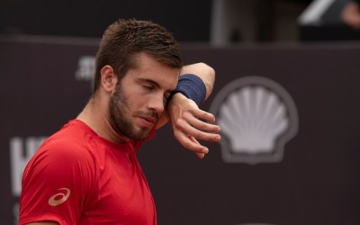 Coric is latest player to test positive