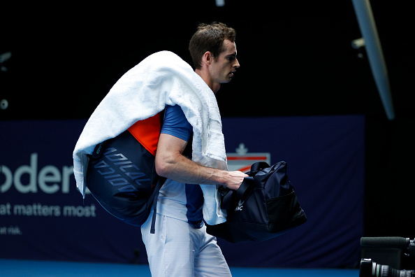 Murray reveals 'shin issues' but gets ready for ATP Tour
