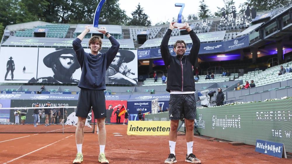Rublev wins THIEMSs7 title