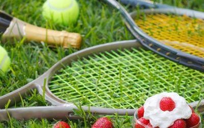 Wimbledon strawberries for NHS birthday celebrations