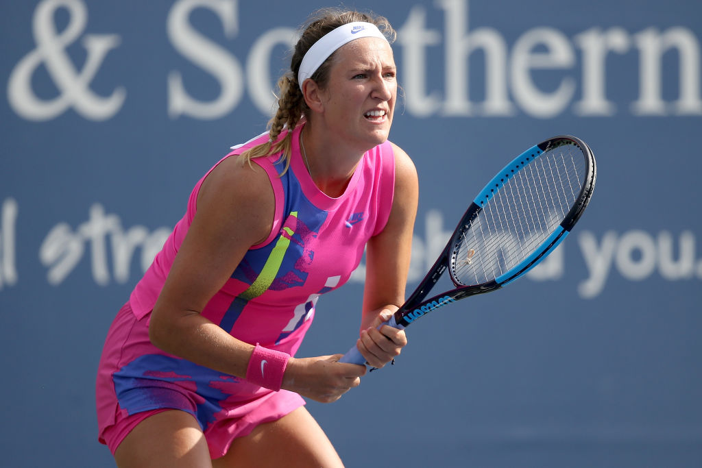 Azarenka wins but laments lack of fans | Tennis Threads Magazine