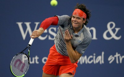 Raonic halts Murray's run